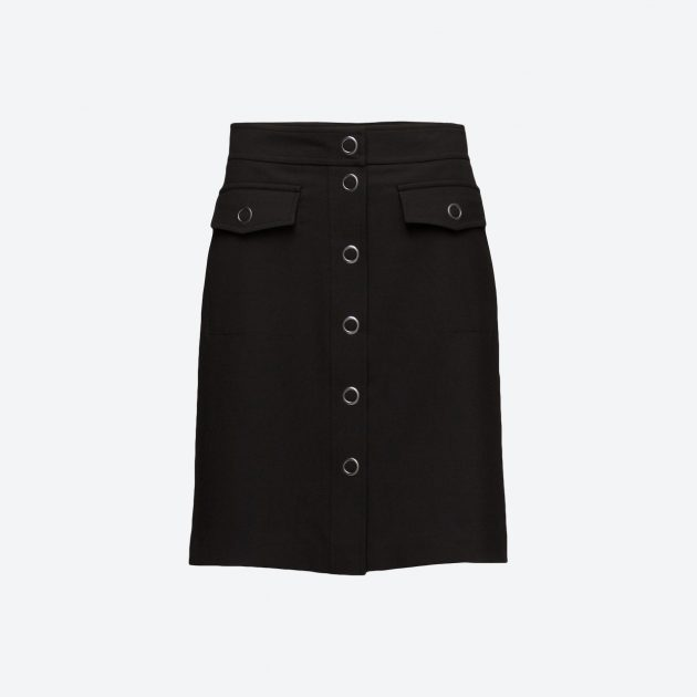Filippa K Panel Button Skirt