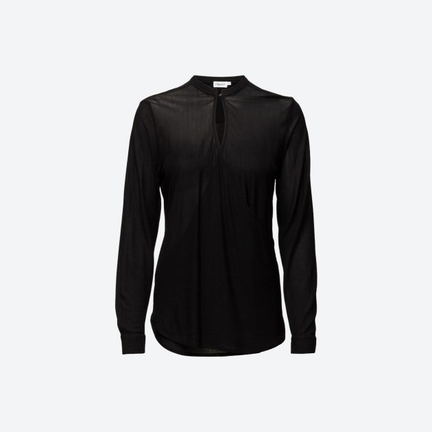 Filippa K Crepe Wrap Blouse