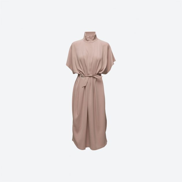 Filippa K Zip Collar Belt Dress