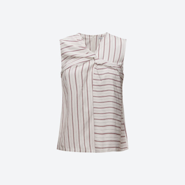 Filippa K Crepe Twisted Stripe
